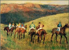 Racehorses in Landscape