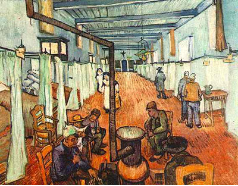 Ward in the Hospital in Arles