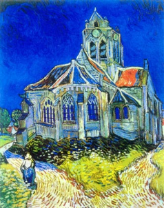 Church in Auvers-Sur-Oise